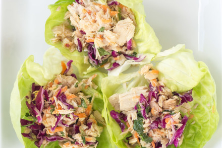 Asian Tuna Salad Recipe (No Mayo!) | InspiredRD.com