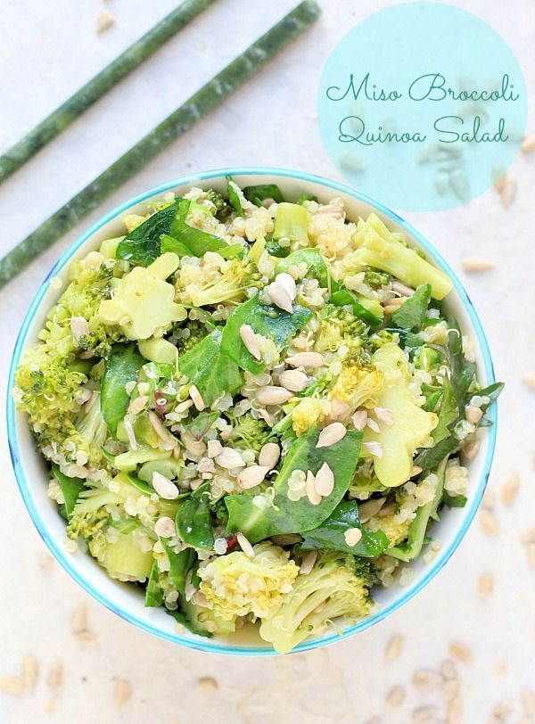Miso Broccoli & Quinoa Salad