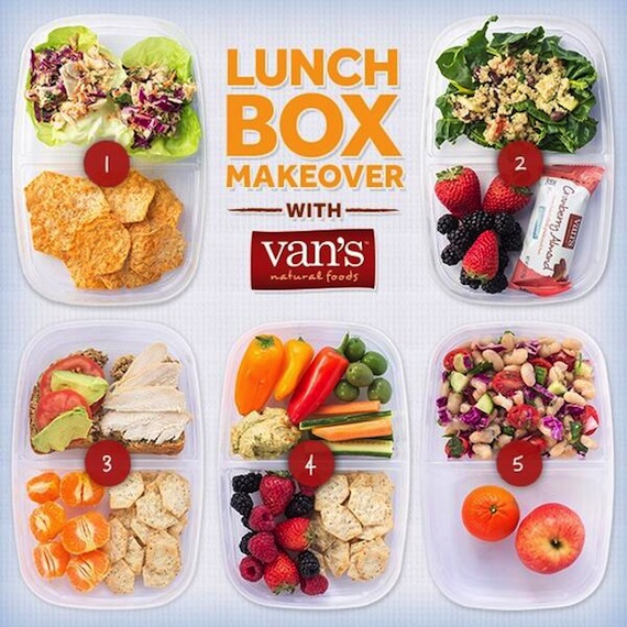 5 days of healthy portable lunch ideas