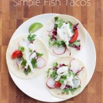 Simple Fish Tacos #glutenfree