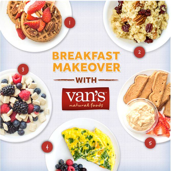 5 Ideas for a Gluten-Free Breakfast Makeover