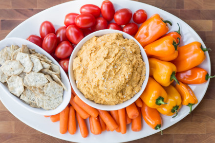 Pumpkin Spiced Hummus | InspiredRD.com