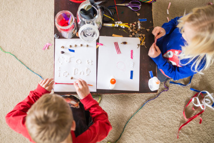 Setting the stage for crafting & learning | InspiredRD.com