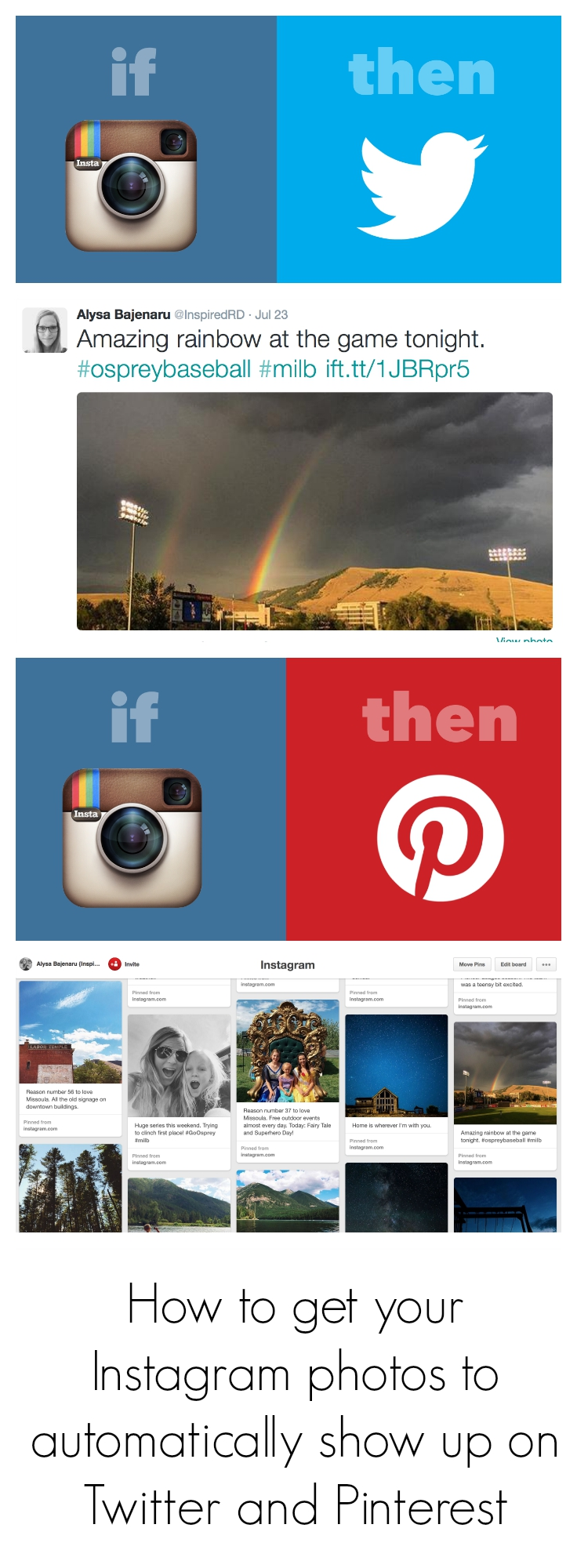 How to get your Instagram photos to automatically show up on Twitter and Pinterest (It's easy!)