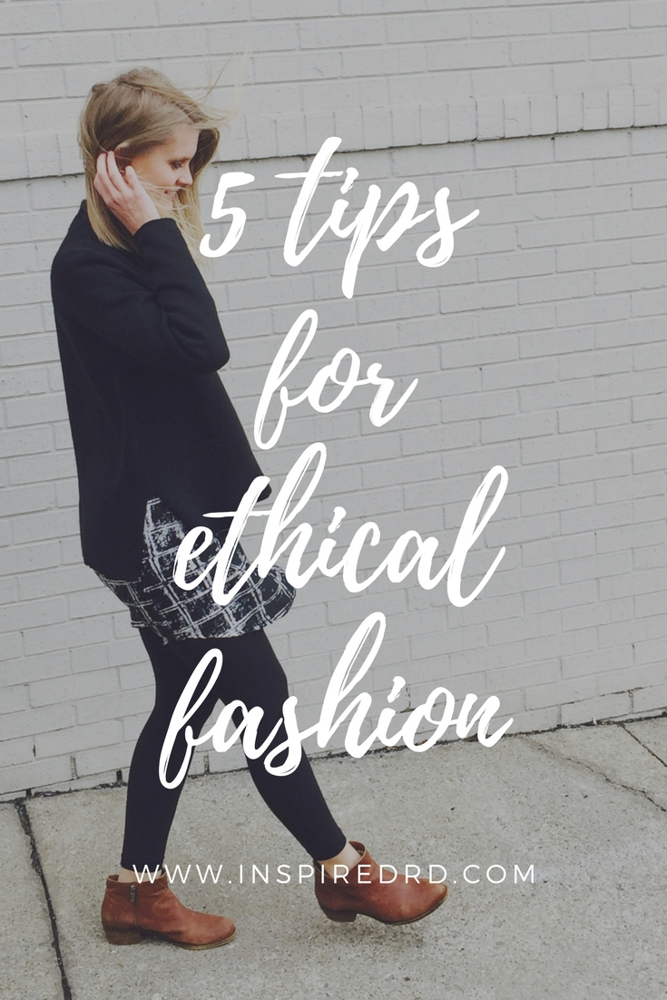 5 Tips for Ethical Fashion